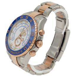 Rolex Yacht-Master Ii Steel & Rose Gold 116681 Men's Watch 44MM