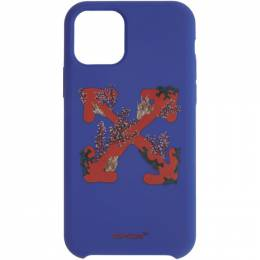 Off-White Blue Corals Arrows iPhone 11 Pro Case OWPA012R20F140393019