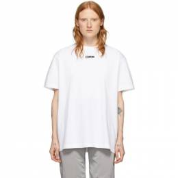 Off-White White Airport T-Shirt OMAA038S201850030188