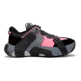 Valentino Black and Pink Valentino Garavani VLTN Wod Sneakers TY2S0C75CDK