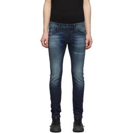 Diesel Indigo Sleenker-X Jeans 00SWJF 0097P