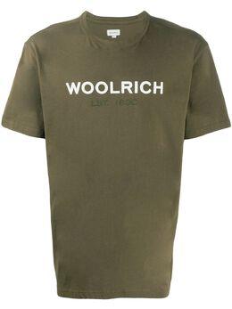 Woolrich logo print T-shirt WOTE0024MRUT1486