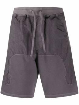 Stone Island Shadow Project спортивные шорты со вставками MO721960307