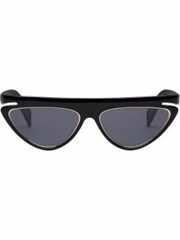 Fendi Eyewear солнцезащитные очки FFluo в оправе 'кошачий глаз' FOG4176CW