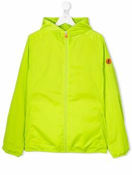 Save The Duck Kids куртка на молнии с нашивкой-логотипом J3915UOCTAX