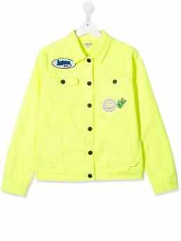 Kenzo Kids джинсовая куртка с аппликацией KQ41518