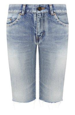 Джинсовые шорты Saint Laurent 621961/Y894R