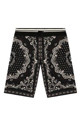 Хлопковые шорты Dolce&Gabbana L4JQF0/G7VEU/8-14
