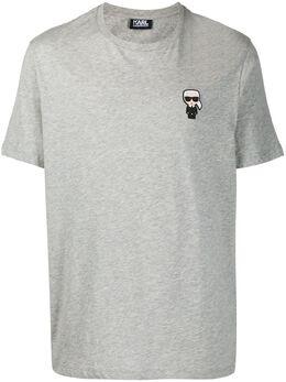 Karl Lagerfeld футболка с нашивкой-логотипом 7550550501220