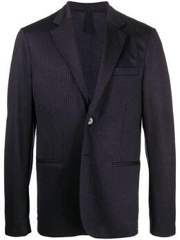 Harris Wharf London пиджак в тонкую полоску C7Y25MPP