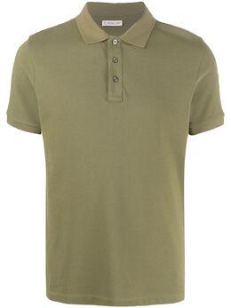 Moncler однотонная рубашка-поло F10918A7051084556
