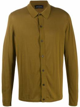 Roberto Collina button-down fitted polo shirt RC1005