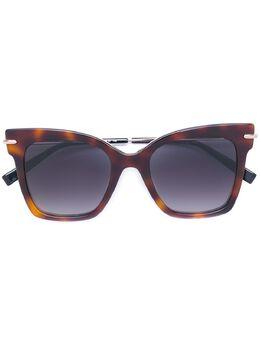 Max Mara солнцезащитные очки в оправе 'кошачий глаз' MMNEEDLEIV