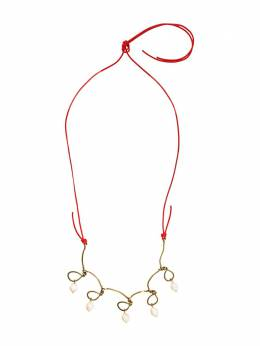 Marni twisted wire necklace COMVW43A00M2000