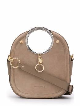 See By Chloe ring handle tote bag CHS20SSA51566