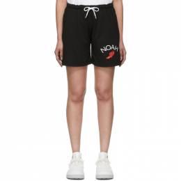 Noah Nyc Black Rugby Cloth Shorts SH12SS20BLK