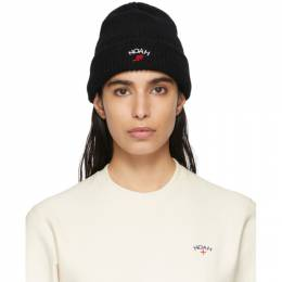 Noah Nyc Black Wing Foot Beanie H2SS20BLK