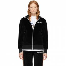Palm Angels Black Chenille Track Jacket PMBD001S204690231088