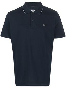 C.P. Company рубашка поло с логотипом 08CMPL035A005263W