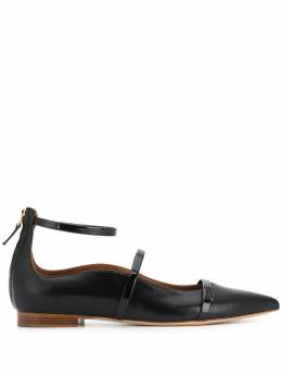 Malone Souliers Robyn pointed flat pumps ROBYNFLAT120