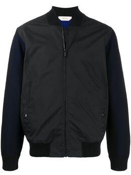 Z Zegna куртка-бомбер в стиле колор-блок VUC15ZZ158