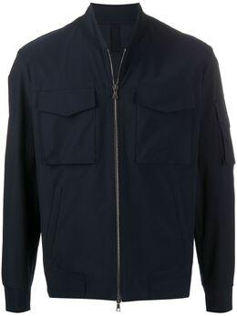 Harris Wharf London легкая куртка на молнии C9350PYZ