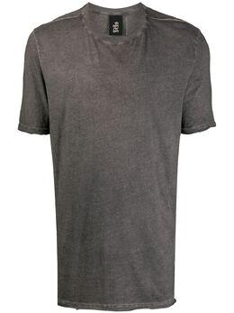 Thom Krom футболка с выцветшим эффектом MTS504