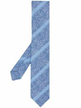 Kiton textured striped tie C03G5301