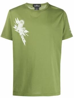 Stone Island Shadow Project футболка с принтом MO721920110