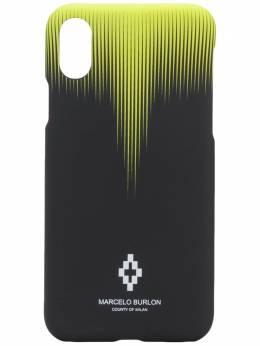 Marcelo Burlon County Of Milan чехол для iPhone XS с абстрактным принтом CMPA014S20MAT0021015