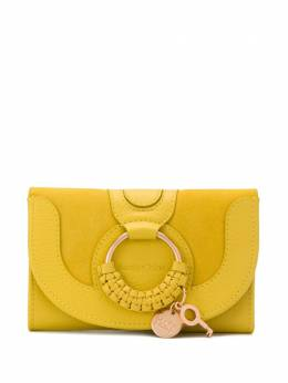 See By Chloe Hana ring-embellished wallet CHS18WP783417