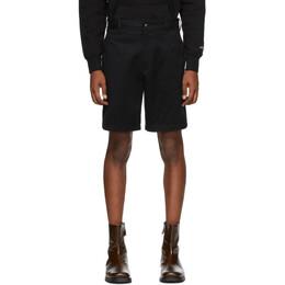 Noah Nyc Black Military Shorts SH9SS20
