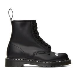 Dr. Martens Black Sex Pistols Edition 1460 Boots R25927001