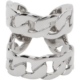 Maison Margiela Silver Chain Ring S51UQ0049 S12635
