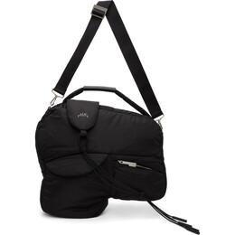 A-Cold-Wall* Black Lead Compression Messenger Bag ACWUG010WHL