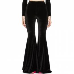 Vetements Black Evening Flared Lounge Pants SS20PA171