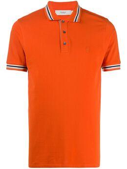 Pringle Of Scotland рубашка-поло с отделкой в полоску PMR226