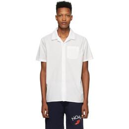 Noah Nyc White Watercolor Floral Shirt S12SS20