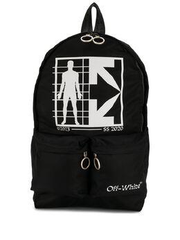 Off-White рюкзак с логотипом OMNB003S20E480101001
