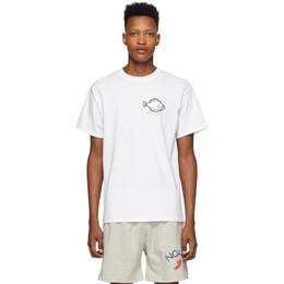 Noah Nyc White Flounder Shop T-Shirt T2SS20