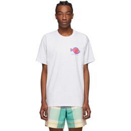 Noah Nyc Grey Flounder Shop T-Shirt T2SS20