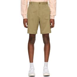 Noah Nyc Khaki Military Shorts SH9SS20