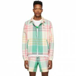 Noah Nyc Multicolor Madras Jacket J1SS20
