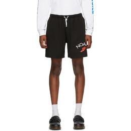 Noah Nyc Black Jersey Shorts SH12SS20