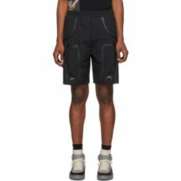 A-Cold-Wall* Black Welded Corbusier Track Shorts ACWMB001WHL