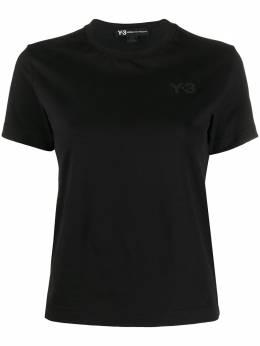 Y-3 футболка с принтом FS5585SWMBL