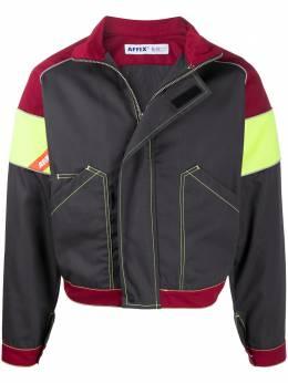 Affix куртка со вставками и воротником-воронкой AFFWSS20JK02