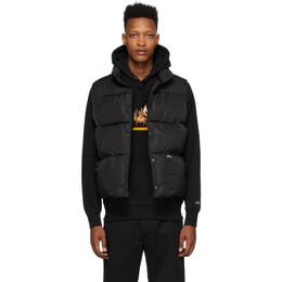 Noah Nyc Black Cashball Puffer Vest J11SS20