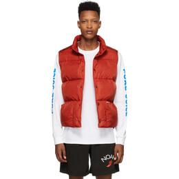 Noah Nyc Red Cashball Puffer Vest J11SS20