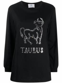 Alberta Ferretti джемпер Taurus с кристаллами J1201172